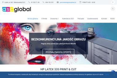 ASC GLOBAL s.c. - Ulotki Lublin