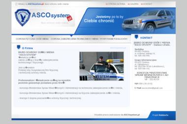 Dariusz Litwin Biuro Ochrony Osób i Mienia Asco System - Agencja ochrony Chojnice