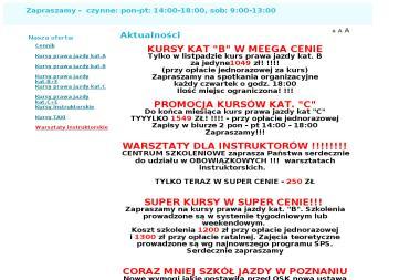 AS Ośrodek Szkolenia Kierowców - Jazdy Doszkalające Legnica