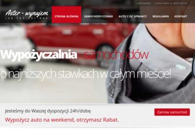 Aster - wynajem - Wypożyczalnia samochodów Lublin