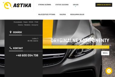 Astika. Salon meblowy i wyposażenie wnętrz oraz warsztat samochodowy - Meble Na Wymiar Pruszcz Gdański