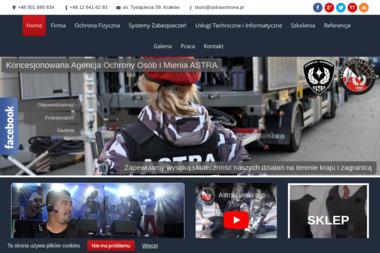 Koncesjonowana Agencja Ochrony Osób i Mienia ASTRA - Agencja ochrony Kraków