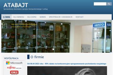 Atabajt - Modernizacja komputerów i sieci Opole