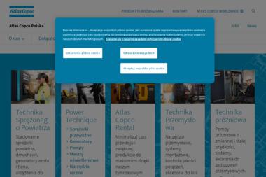 Atlas Copco Polska Sp. z o.o. - Centrala - Wypożyczalnia sprzętu budowlanego Sękocin Nowy