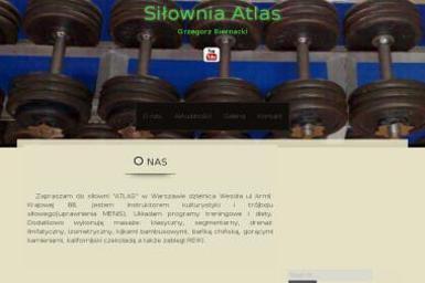 Grzegorz Biernacki Atlas - Trener personalny Mińsk Mazowiecki