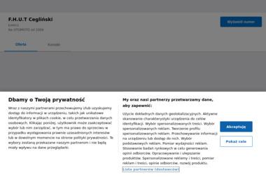 Firma Handlowo Usługowo Transportowa Cegliński Tadeusz Cegliński - Maszyny budowlane Małszyce