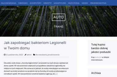 Auto-Trans - Firma transportowa Konin