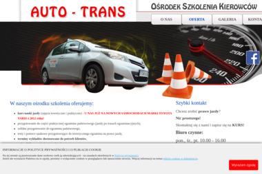 Auto-Trans. Ośrodek Szkolenia Kierowców - Operator Wózka Widłowego Sandomierz