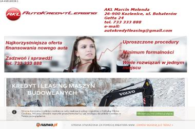 AutoKredytLeasing Marcin Molenda - Firma Leasingowa Kozienice