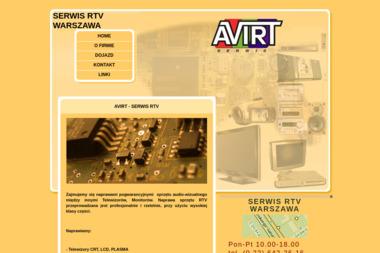 AVIRT Serwis RTV - Naprawa sprzętu audio Warszawa