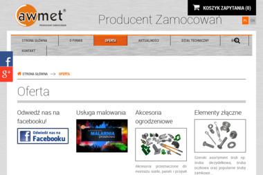 Awmet Wolniewicz S.J. - Skład budowlany Grodzisk Mazowiecki