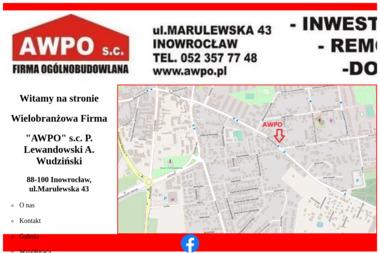Wielobranżowa Firma Awpo S.C. P Lewandowski A Wudziński - Układanie Kostki Brukowej Inowrocław