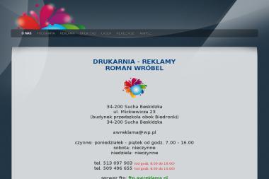 Pracownia Reklamy Roman Wróbel - Awreklama - Ulotki Sucha Beskidzka