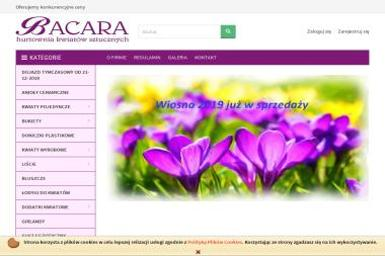 BACARA Hurtownia Kwiatów Sztucznych - Kosze Upominkowe Olsztyn