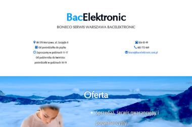Bac Electronic Ryszard Basiuk - Serwis RTV Warszawa