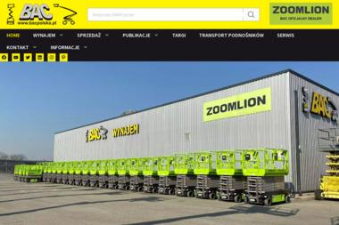 Bac Sp. z o.o. - Maszyny budowlane Kostrzyn Nad Odrą