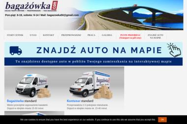 Bagażówki Trójmiejskie. Przeprowadzki, usługi transportowe - Firma transportowa Sopot