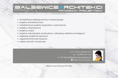 Balsewicz Architekci - Adaptacja Projektu Domu Goleniów