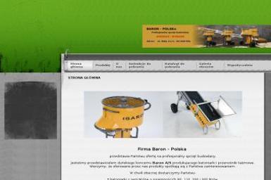 Iwona Dobosz Firma Baron - Maszyny Budowlane Używane Piła