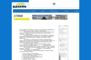 BASERO - Nawierzchnia Betonowa Płock