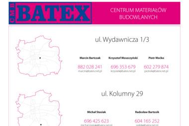 Batex. Centrum Materiałów Budowlanych - Schody Łódź