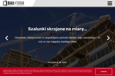 Bau-Form s.c. - Maszyny budowlane Przodkowo