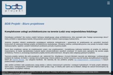BDB Projekt Pracownia Architektoniczna Łukasz Drewniak. Architekt, biuro projektowe - Projekty Domów Górka Pabianicka