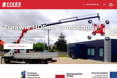 Bielska Fabryka DŹwigów Befard Sp. z o. o. - Maszyny budowlane Bielsko-Biała