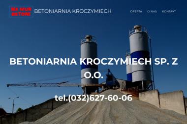 PUH Betoniarnia Kroczymiech Piekarczyk Franciszek Tyl Franciszek Sp.J. - Sklep Budowlany Chrzanów
