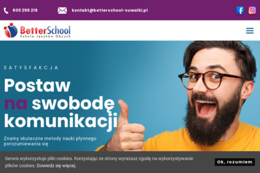 Szkoła Języków Obcych Better School - Język Angielski Suwałki