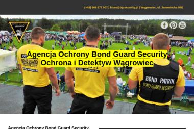 Agencja Ochrony Osób i Mienia Bond Guard Security - Detektyw Wągrowiec