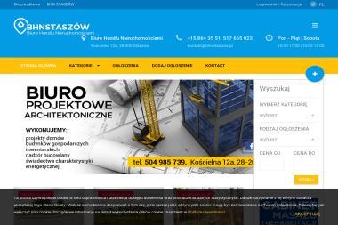 Biuro Handlu Nieruchomościami - Agencja nieruchomości Staszów
