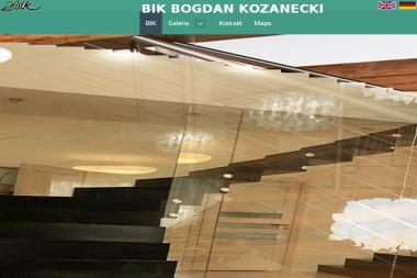 BIK. Bogdan Kozanecki - Schody Kręcone Szczecin