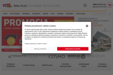 Samoobsługowa hurtownia instalacyjna BIMs PLUS Spółka z ograniczoną odpowiedzialnością Sp. k. - Urządzenia, materiały instalacyjne Tarnów