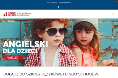 BINGO SCHOOL - Nauczyciele angielskiego Tomaszów Mazowiecki