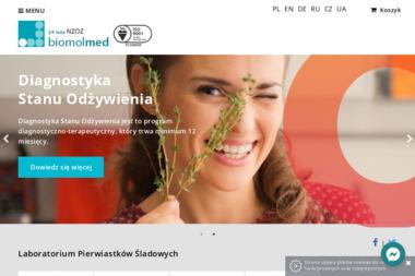 Biomol - Med Sp.z o.o. Odchudzanie , diety, analiza włosów - Dietetyk Łódź