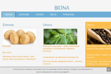 Biona Sp. z o.o. - Masaż Katowice