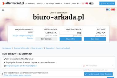"""""""ARKADA"""" Biuro Nieruchomości. Dariusz Romanowicz - Agencja nieruchomości Białogard"""