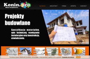 Biuro Architektoniczne Konin PRO - Dostosowanie Projektu Konin