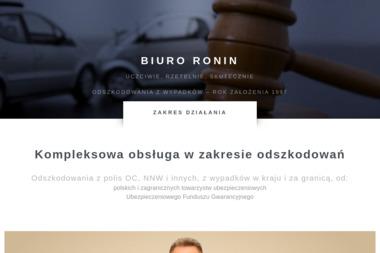 Biuro Ronin Zbigniew Zawada - Polisy Na Życie Bolesławiec