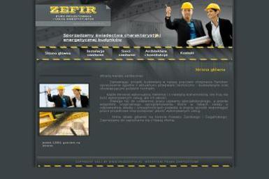 Biuro Projektowania i Usług Inwestycyjnych Zefir. Projekty budowlane, projekty architektoniczne, - Architekt Żary