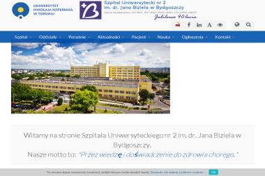 Szpital Uniwersytecki nr 2 im. dr. Jana Biziela. Ginekologia, kardiologia - Psycholog Bydgoszcz