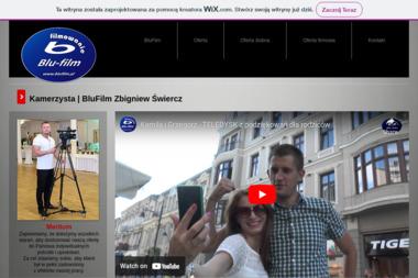 Blu-film Filmowanie imprez okolicznościowych, kamerzysta - Kamerzysta Bełchatów