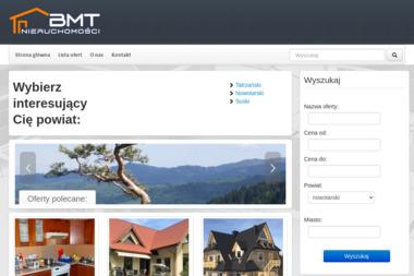 BMT Nieruchomości - Agencja nieruchomości Zakopane