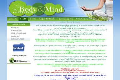 Fitness Club Body&Mind Iwona Brzezi艅ska - Trener Personalny Gda艅sk