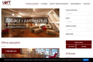 LOFT - Biuro nieruchomości. Sprzedaż domów i mieszkań - Agencja nieruchomości Kępno
