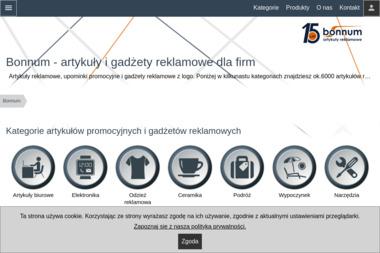 Bonnum Artykuły Reklamowe - Kosze prezentowe Szczecin