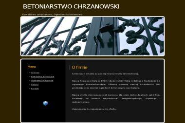 BETONIARSTWO CHRZANOWSKI - Nowoczesne Ogrodzenia Kute Jędrzejów