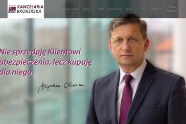 Kancelaria Brokerska Bogdan Oszmian - Ubezpieczenia Na Życie Lębork