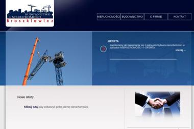Biuro Nieruchomości Broszkiewicz. Nieruchomości, budownictwo, inwestycje - Agencja nieruchomości Bochnia